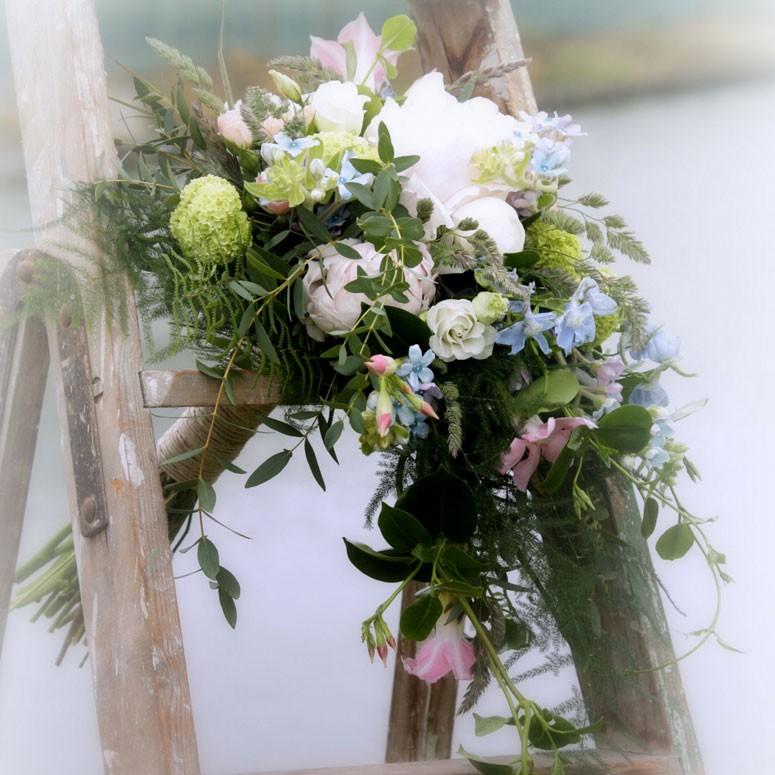 Bruidsboeket tuincentrum